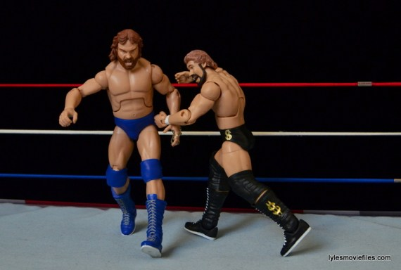 Mattel Ted DiBiase Hall of Fame figure review - Irish whip to Hacksaw Duggan