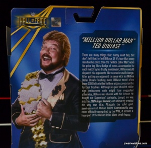 Mattel Ted DiBiase Hall of Fame figure review - bio