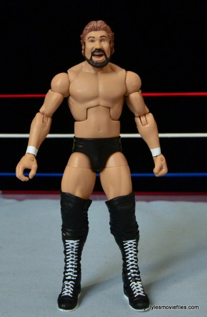 Mattel Ted DiBiase Hall of Fame figure review - front