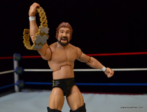 Mattel Ted DiBiase Hall of Fame figure review - with Million Dollar belt