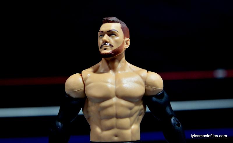 WWE Basic Finn Balor figure review -looking up
