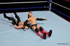 WWE Basic Finn Balor figure review -slingback to Seth Rollins