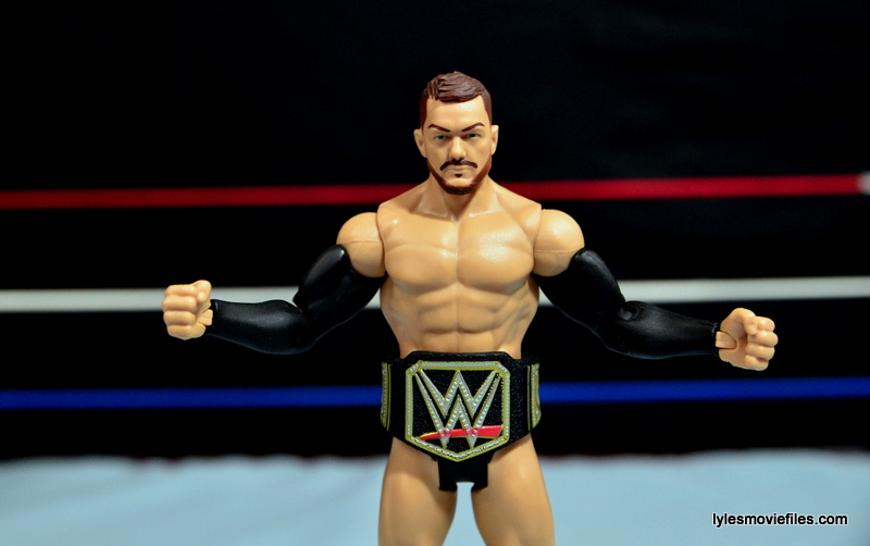 WWE Basic Finn Balor figure review -with WWE title