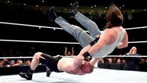 WWE Roadblock - Brock Lesnar vs Luke Harper