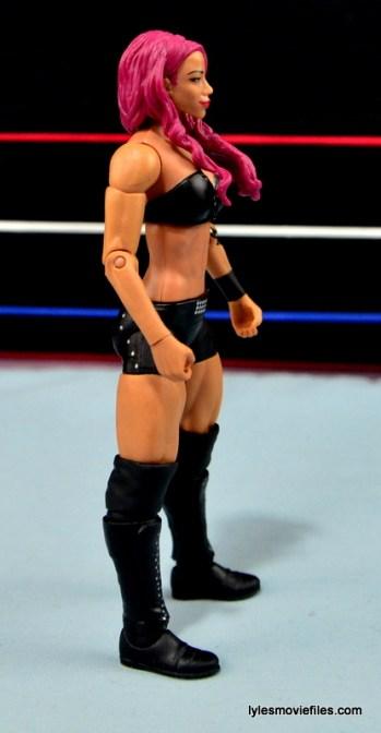WWE Sasha Banks figure review - right side
