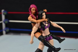 WWE Sasha Banks figure review - sleeper on Paige