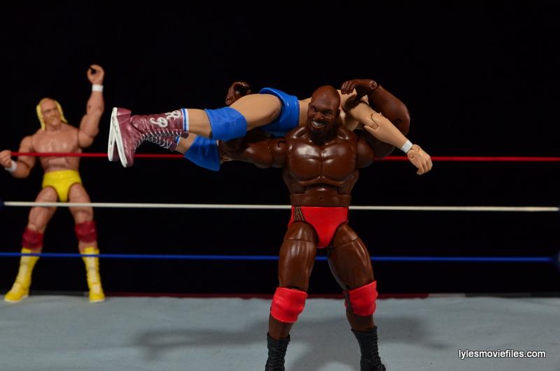 Wrestlemania 1 - Mr. T airplane spins Roddy Piper
