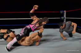 Wrestlemania 13 - Bret Hart vs Stone Cold - slugfest starts