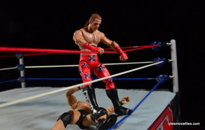 Wrestlemania 14 - Shawn Michaels vs Stone Cold - going after the knee
