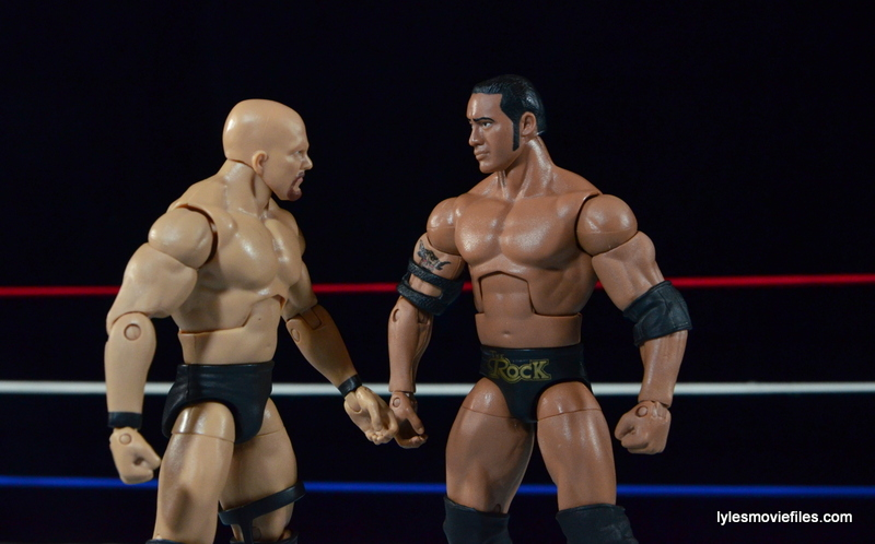 Wrestlemania 15 - The Rock vs Stone Cold -face off