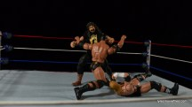 Wrestlemania 2000 - Mick Foley vs The Rock vs The Big Show vs Triple H - Foley hits Mandible Claw