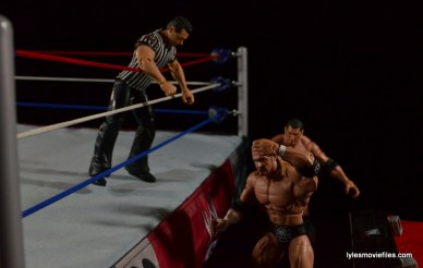Wrestlemania 21 - Batista vs Triple H - Batista chasing the champ