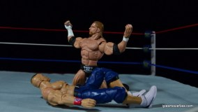 Wrestlemania 22 - Triple H vs John Cena - The Game flexes