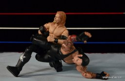 Wrestlemania 24 - Edge vs The Undertaker -leg lock