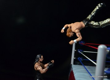Wrestlemania 26 - The Undertaker vs Shawn Michaels - HBK flies