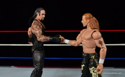 Wrestlemania 26 - The Undertaker vs Shawn Michaels - show of respect