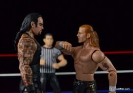Wrestlemania 26 - The Undertaker vs Shawn Michaels - throat slash