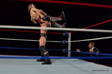 Wrestlemania 30 - Daniel Bryan vs Randy Orton vs Batista -Batista Bomb