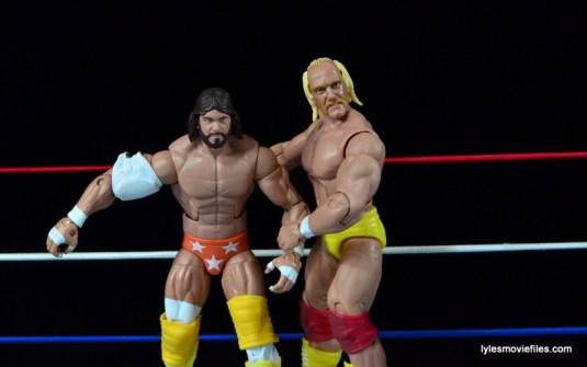 Wrestlemania 5 - Hullk Hogan vs Macho Man - Hogan irish whip Savage