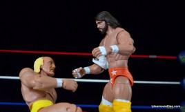 Wrestlemania 5 - Hullk Hogan vs Macho Man - Hulking up
