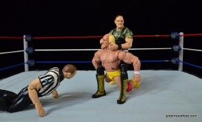 Wrestlemania 7 - Sgt Slaughter camel clutch Hulk Hogan
