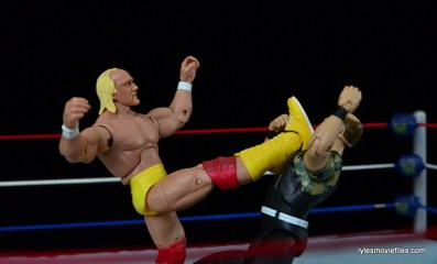 Wrestlemania 7 - big boot to Slaughter