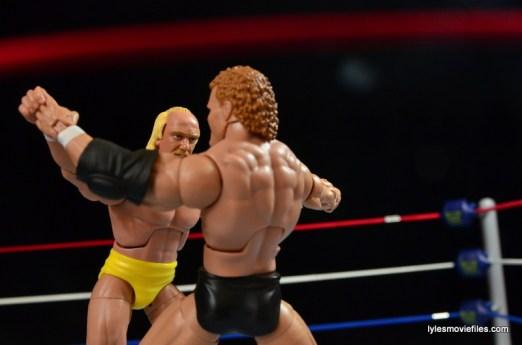Wrestlemania 8 - Hogan vs Sid - Hogan wins test of strength