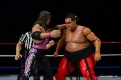 Wrestlemania 9 -Bret Hart punches Yokozuna