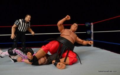 Wrestlemania 9 - Yokozuna legdrops Bret Hart