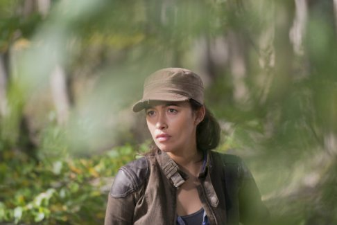 the walking dead -east review - rosita