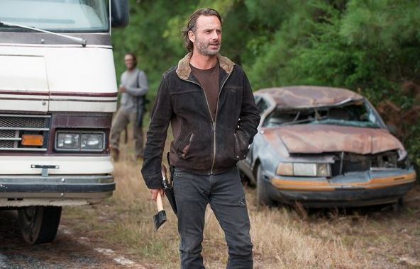 the walking dead not tomorrow yet review -heath and rick