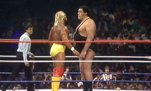 wrestlemania 3 - hulk hogan vs andre_0