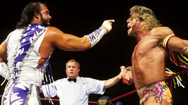wrestlemania 7 - macho man vs the ultimate warrior