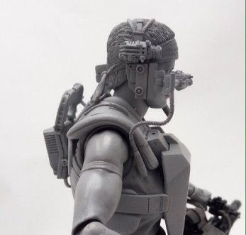 Aliens Lt. Vasquez side sculpt preview