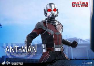 Hot Toys Civil War Ant-Man figure -glancing up