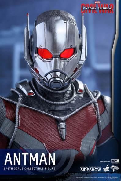 Hot Toys Civil War Ant-Man figure -straight