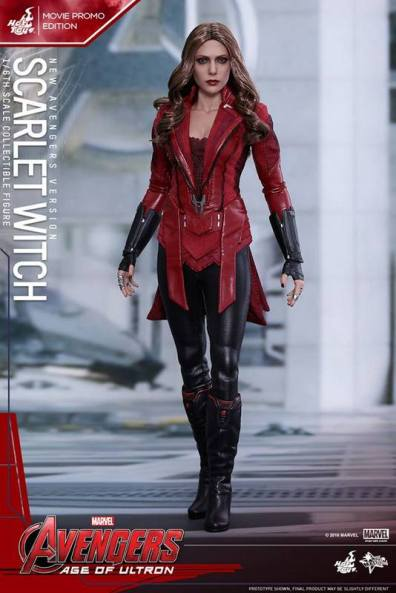 Hot Toys New Avengers Scarlet Witch - standing