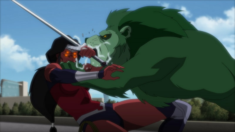 Justice League vs Teen Titans -Wonder Woman vsBeastBoy-min