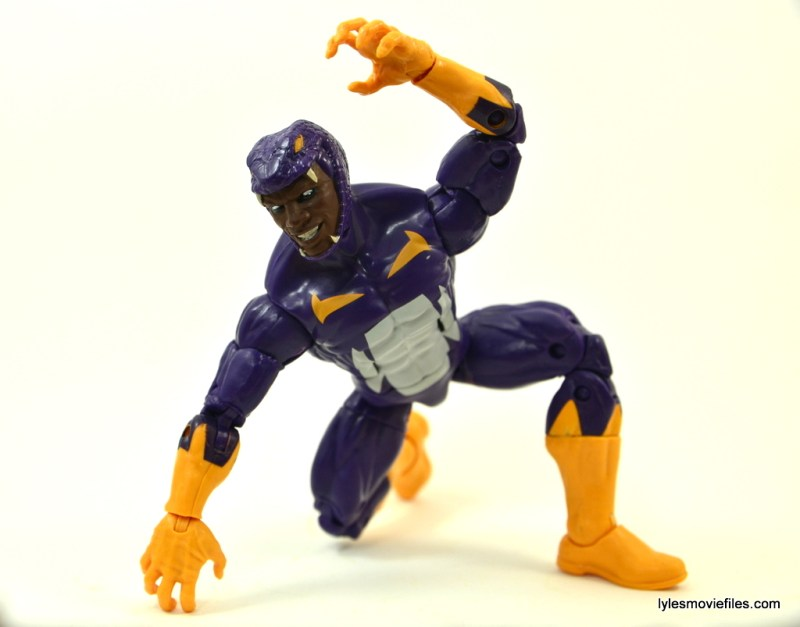 Marvel Legends Cottonmouth figure - crouching