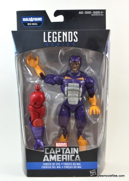 Marvel Legends Cottonmouth figure - front package