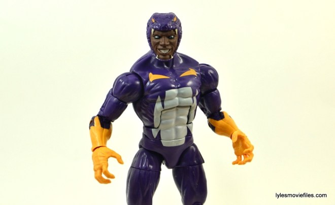 Marvel Legends Cottonmouth figure - wide shot