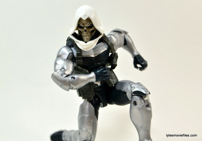 Marvel Legends Taskmaster figure -crouching