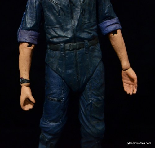 NECA Aliens Bishop -elbow paint scrape