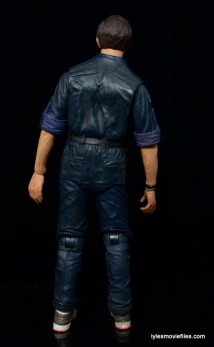 NECA Aliens Bishop -rear package