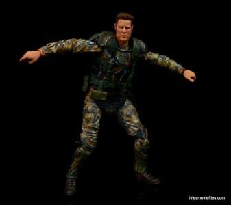 NECA Aliens Sgt Craig Windrix figure -arms wide