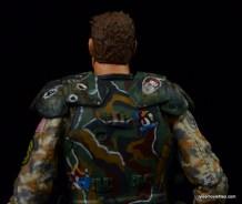 NECA Aliens Sgt Craig Windrix figure -body armor rear