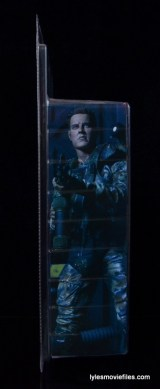 NECA Aliens Sgt Craig Windrix figure -right side package