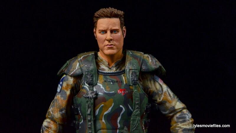 NECA Aliens Sgt Craig Windrix figure -wide frontal