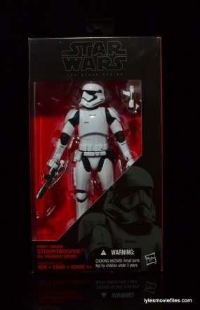 Star Wars The Force Awakens - The Black Series Stormtrooper review -front package