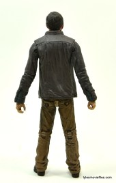 The Walking Dead Gareth figure review - back